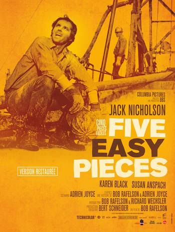 Affiche Five Easy Pieces